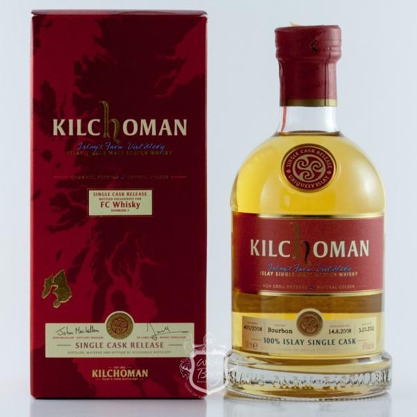Kilchoman 2008 FC Whisky Denmark Edition 5