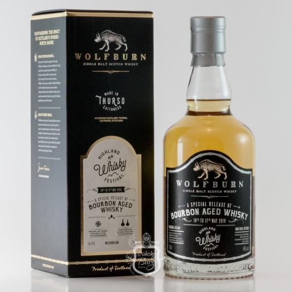Wolfburn Bourbon Aged Whisky