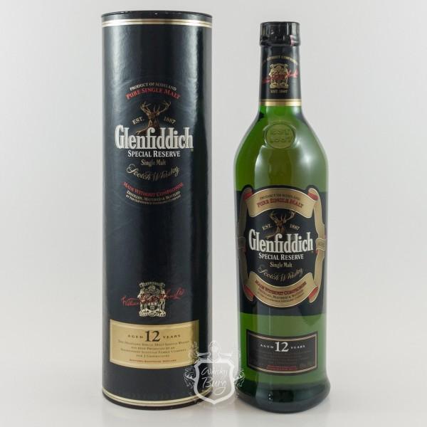 Glenfiddich 12y Special Reserve Old Label