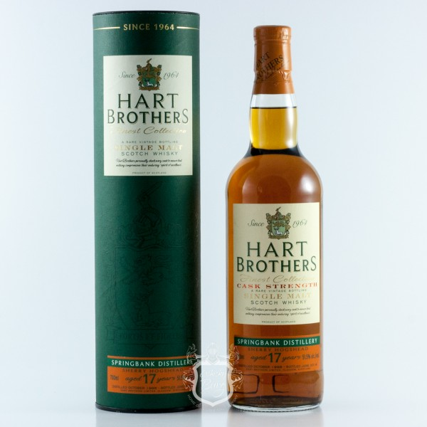 Springbank 1996 Hart Brothers