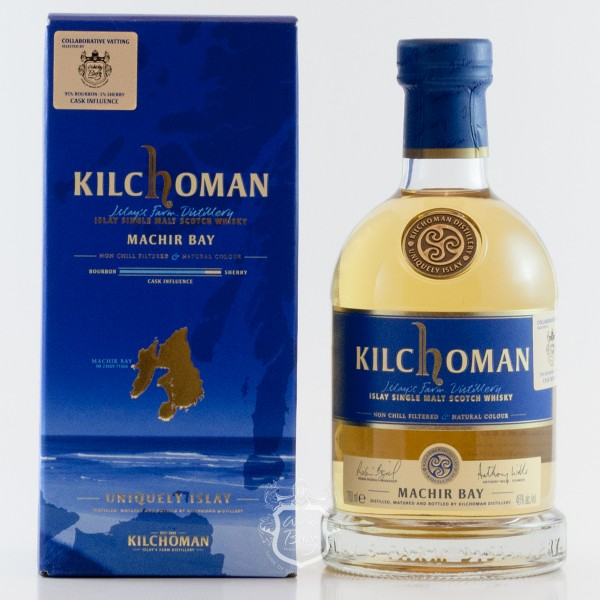 "Kilchoman Machir Bay Collaborative Vatting ""Whiskyburg Wittlich"""
