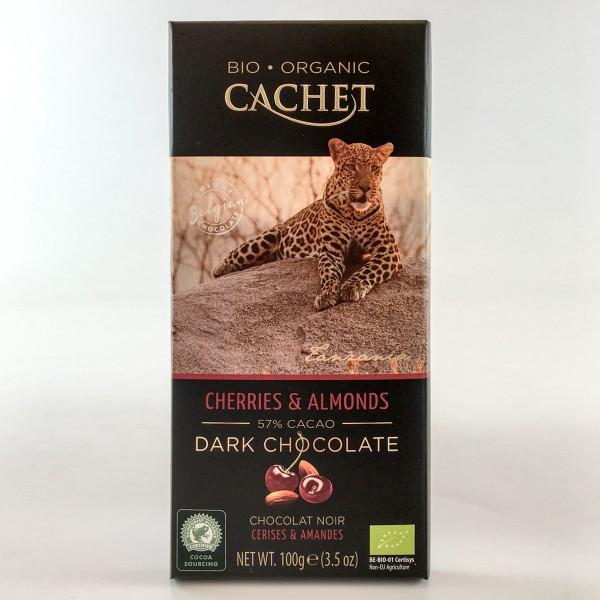 Bio-Organic Cachet Cherries & Almonds 57% Cacao