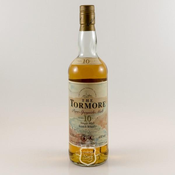 Tormore 10y Old Label