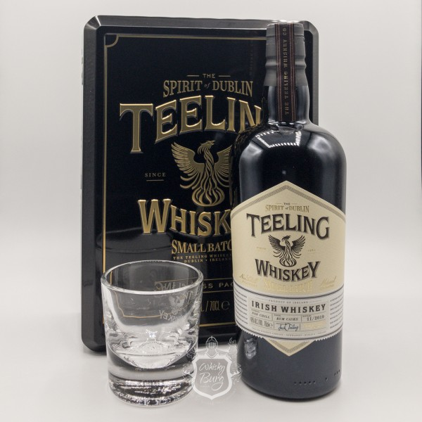 Teeling-Small-Batch-Rum-Finish-mit-Glas