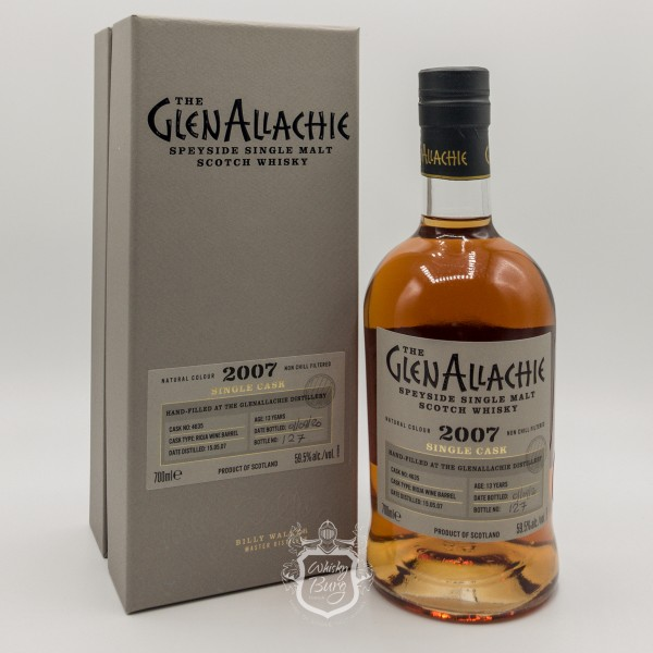 Glenallachie 2007 Single Cask Distillery Exclusive