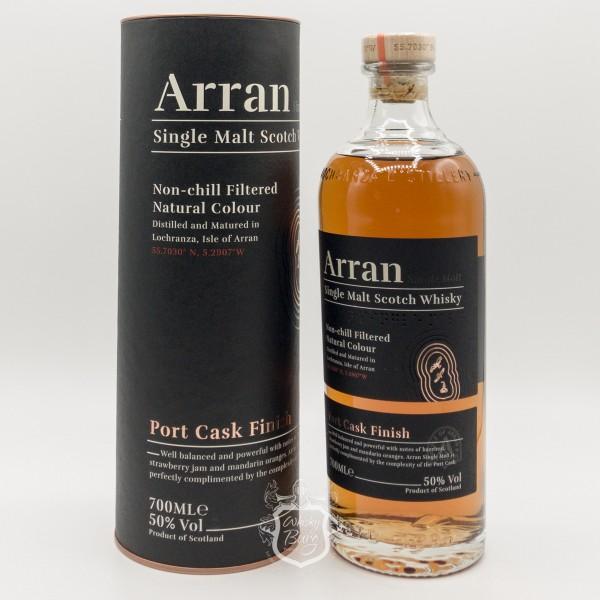 Arran The Port Cask Finish Neues Label