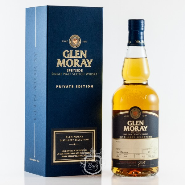 Glen Moray 2008 Handfilled Bourbon Cask