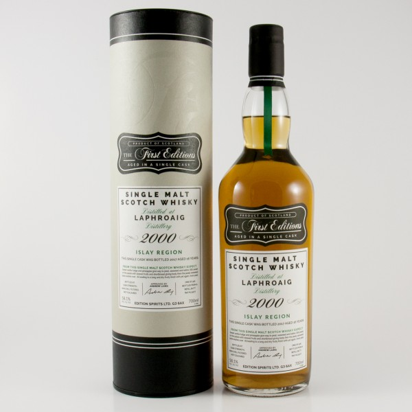 Laphroaig The First Edition 2000