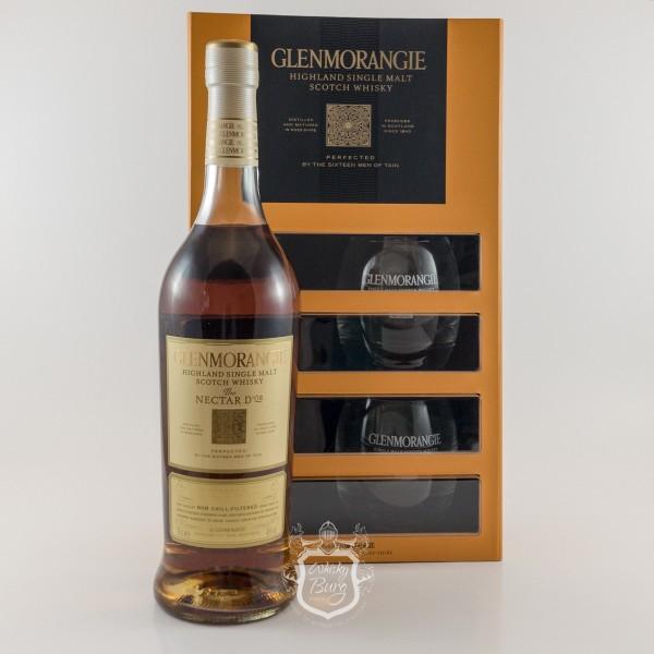 Glenmorangie-Nectar-dOr-Geschenkset-mit-Glaesern
