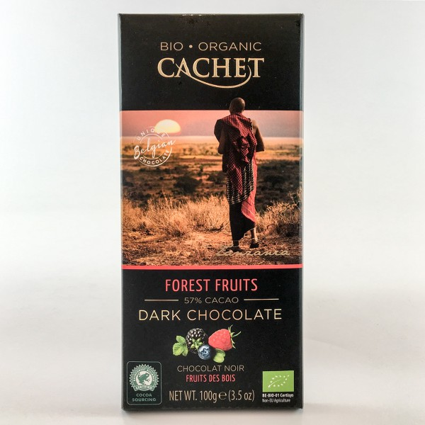 Bio-Organic Cachet Forest Fruits 57% Cacao