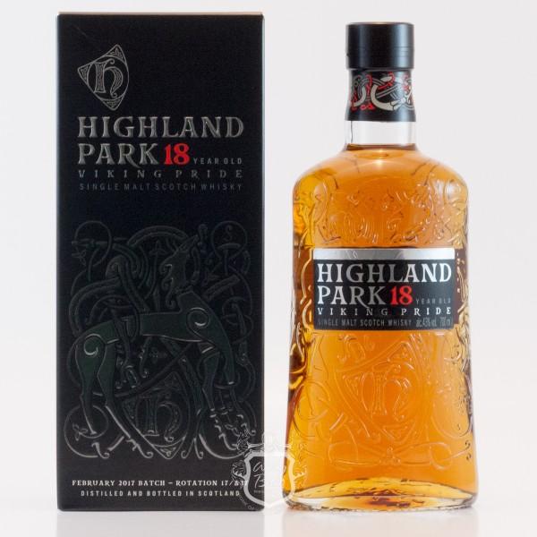 Highland Park 18 Jahre Viking Bottling