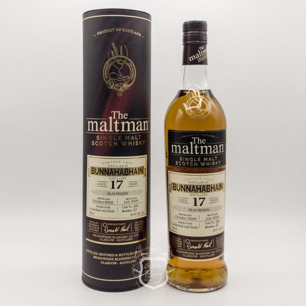 Bunnahabhain-17y-The-Maltman