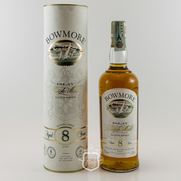 Bowmore 8y Old Label