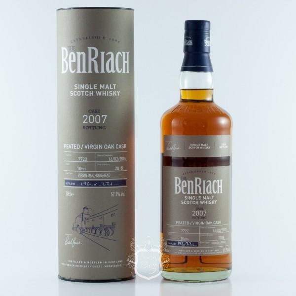 Benriach 2007  Peated Batch 15