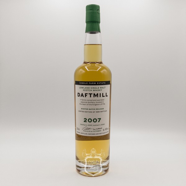 Daftmill 2007 Winter Batch Release for Asia