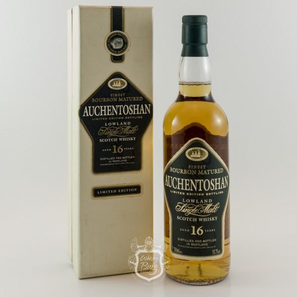Auchentoshan 16 Jahre Old Label