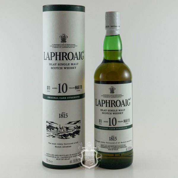 Laphroaig Cask Strength Batch 11