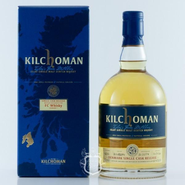 Kilchoman 2007 FC Whisky Denmark Edition 1
