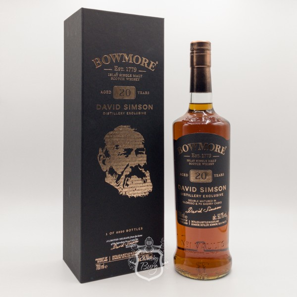 Bowmore-20y-David-Simson