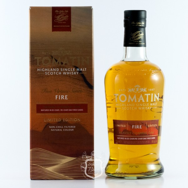 Tomatin Five Virtues Serie - Fire
