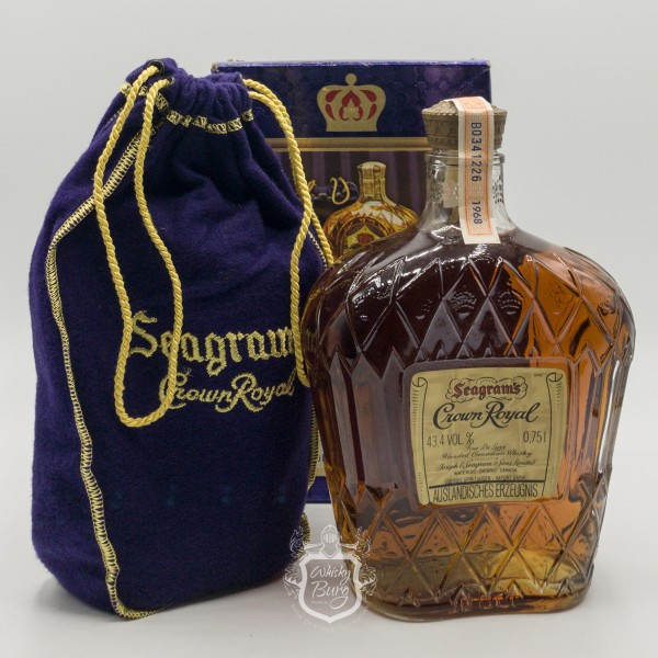 Crown Royal Fine De Luxe -Blended Canadian Whisky mit Box
