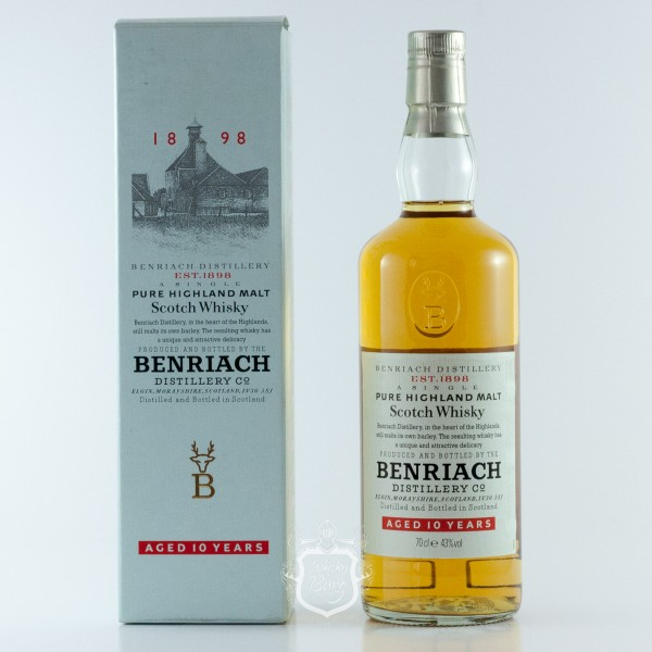 Benriach 10 Jahre  Altes Label