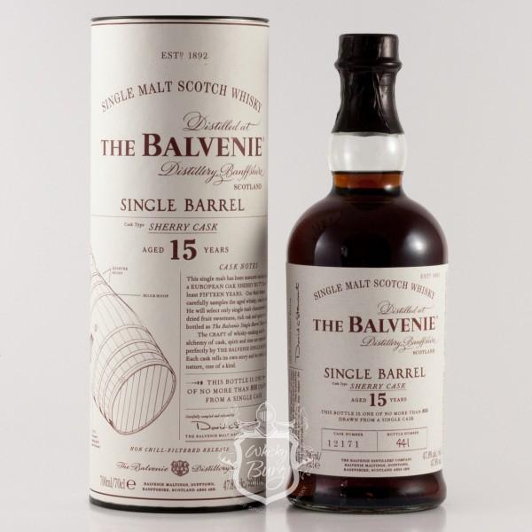 Balvenie 15 Jahre  Single Barrel