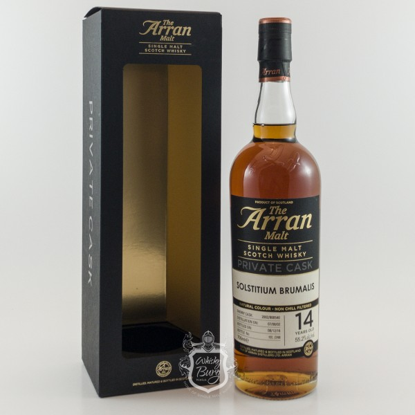 Arran 2002 Private Cask Solstitium Brumalis