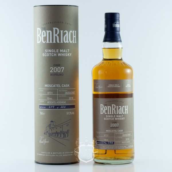 Benriach 2007   Batch 15