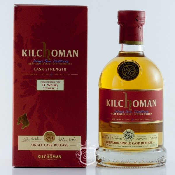 Kilchoman 2006 FC Whisky Denmark Edition 11