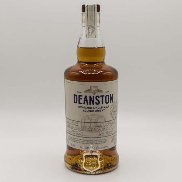 Deanston 2005 Hand Filled