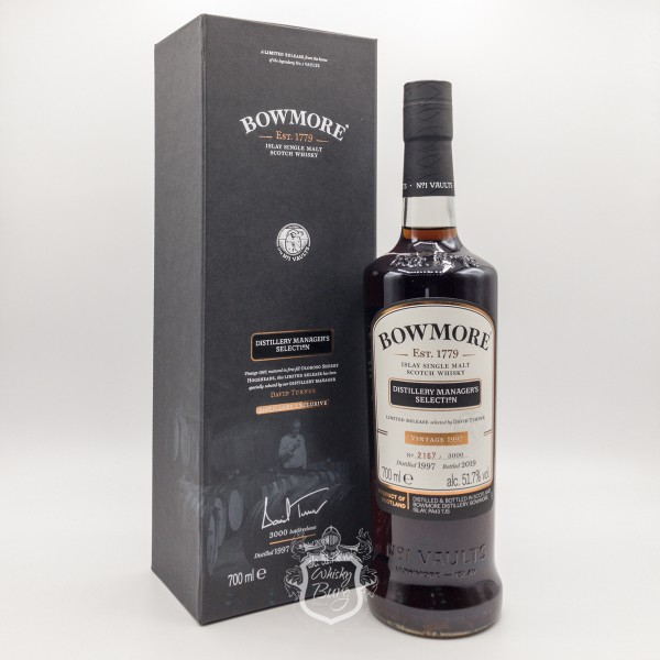 Bowmore 1997 Distillery Managers Selection