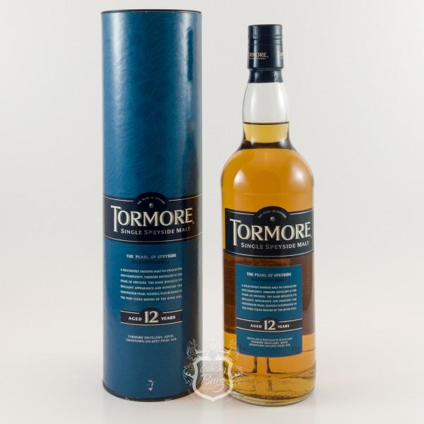 Tormore 12y Old Label