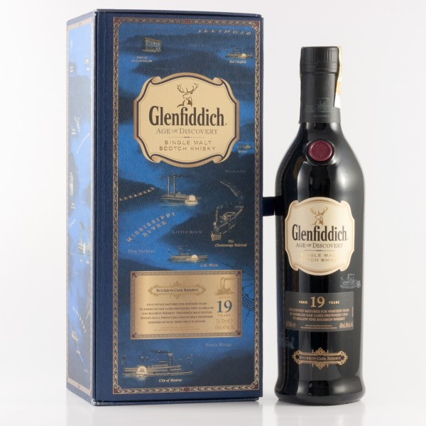 Glenfiddich 19 Jahre Age of Discovery Bourbon