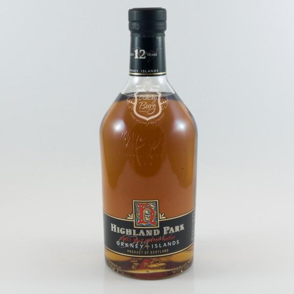 Highland Park 12y Old Label Dumpy Bottle