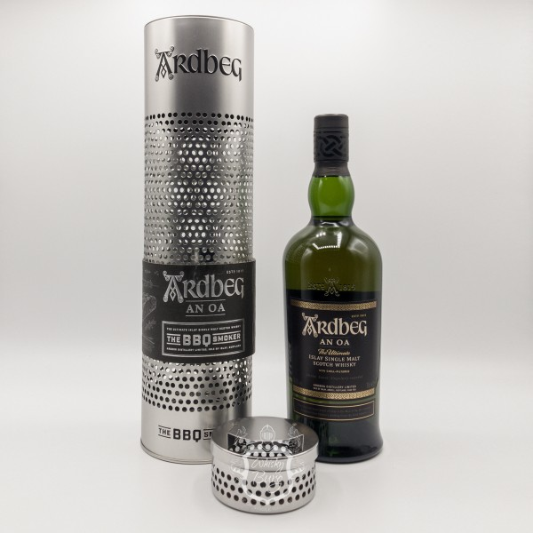 Ardbeg An Oa The BBQ Smoker Set