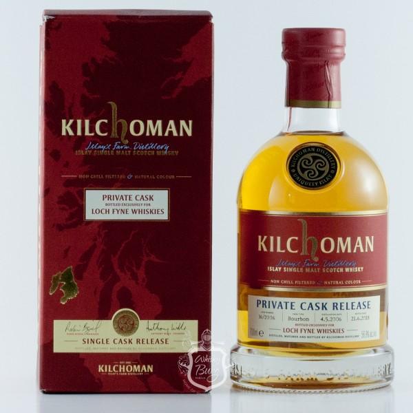 Kilchoman 2006 For Loch Fine Whisky
