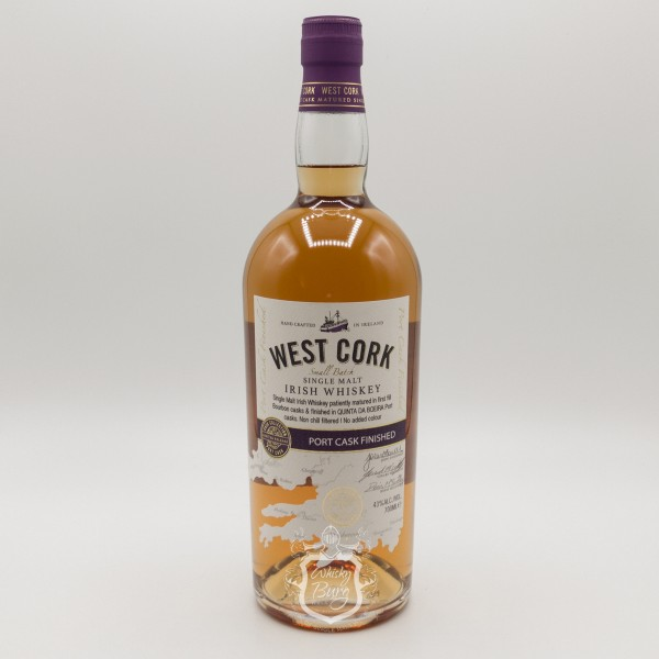 West Cork Irish Whiskey Port Cask Finish