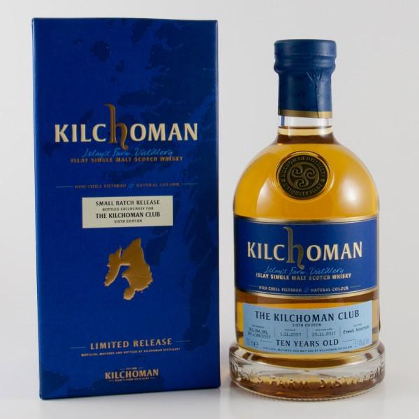 Kilchoman Club 6. Edition