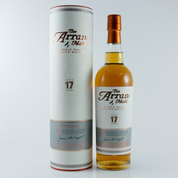 Arran 17 Jahre Pure by Nature