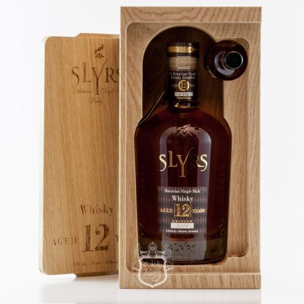 Slyrs 12 Jahre  Oak Block mit Mini