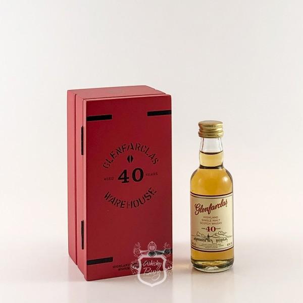 Glenfarclas  40 Jahre Miniature