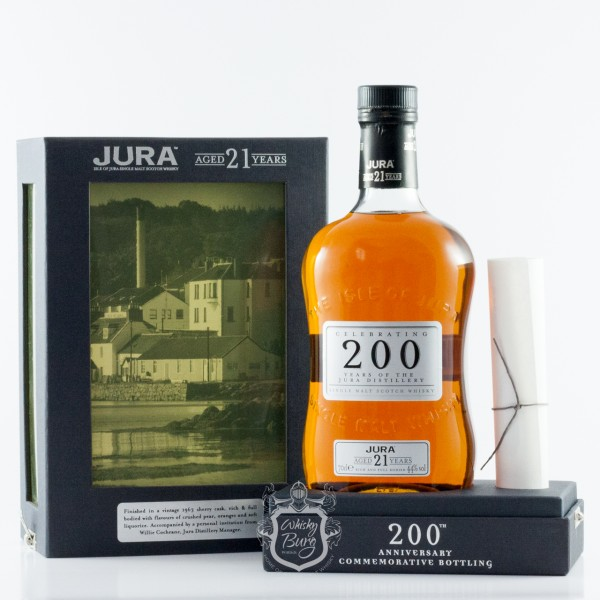 Jura 21 Jahre 200 Years of the Jura Distillery