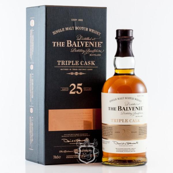 Balvenie 25 Jahre  Triple Cask