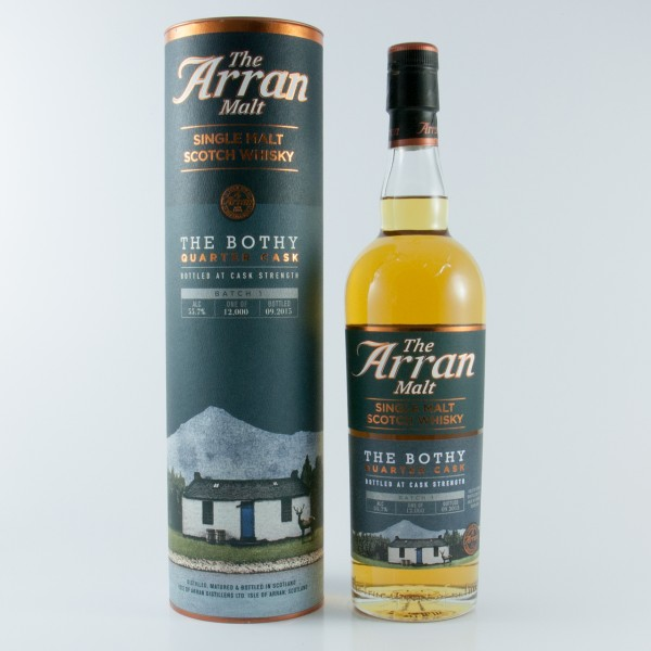 Arran The Bothy Quarter Cask Batch 1