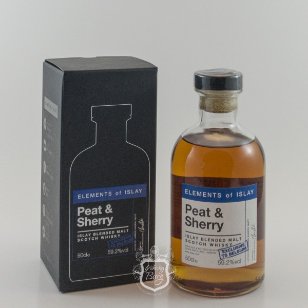 Elements of Islay Peat & Sherry For Belgium