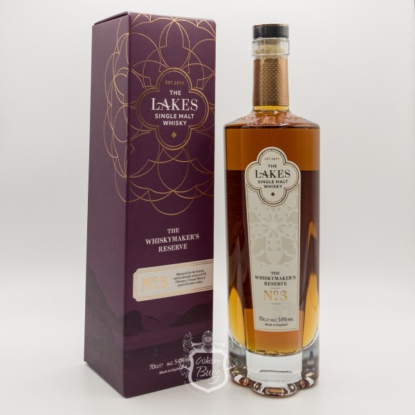 The Lakes Single Malt The Whiskymakers Reserve No.3