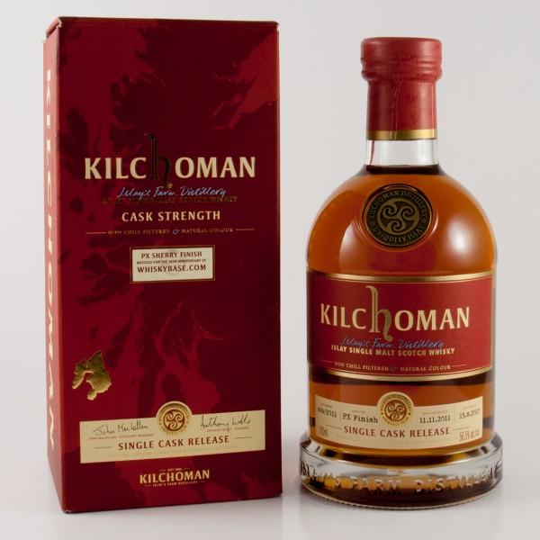 kilchoman 2011 for the Whiskybase