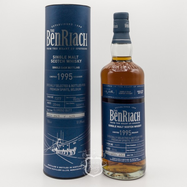 Benriach-1995-SC-Bottling