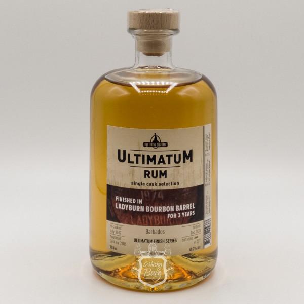 Ultimatum-Rum-Ladyburn-Finish